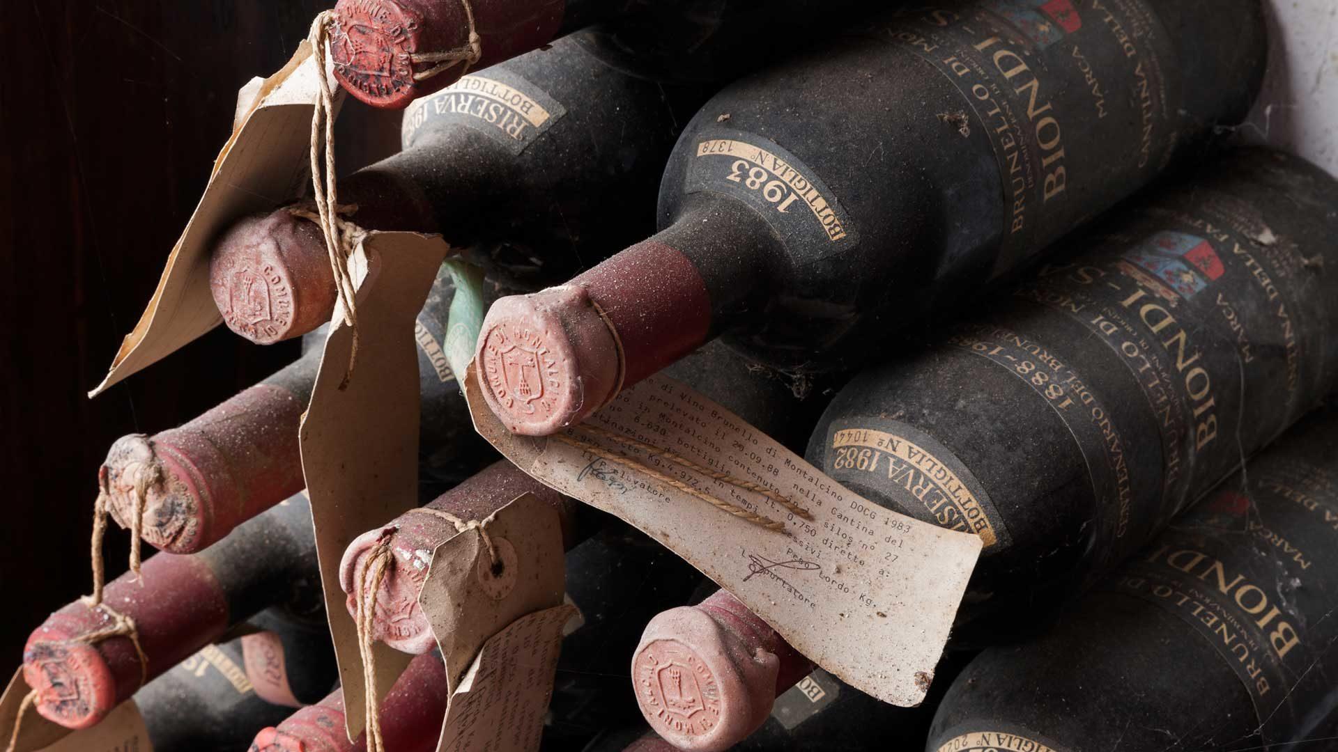 Biondi Santi botellas antiguas